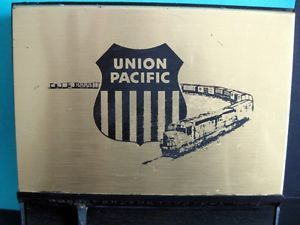 Union Pacific Railroad Vintage Telephone Number and Address Index File Box