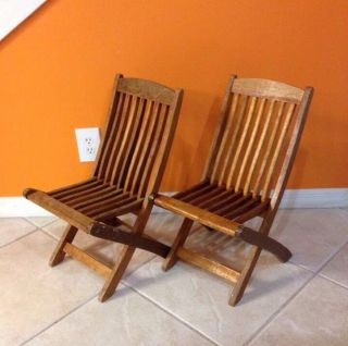 Wood Slatted Folding Chairs Folding Chair Plans