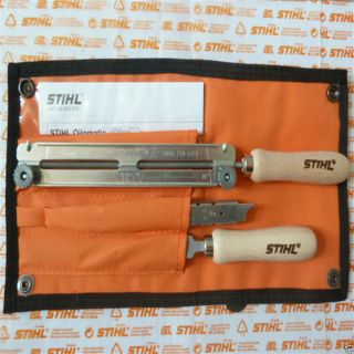 "Genuine Stihl Chainsaw Chain Filing Sharpening Kit 325"" 4 8mm 3 16"" as Oregon"