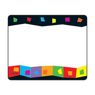 silly squares name tag stickers labels school teachers birthday partys