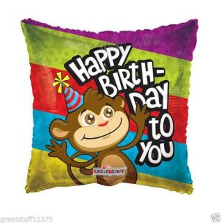 Cute Monkey with Happy Birthday to You Message 18 In