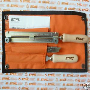 "Genuine Stihl Chainsaw Chain Filing Sharpening Kit 3 8"" 5 2mm 13 16"" as Oregon"
