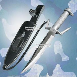 14 Fixed Blade Military Combat Knife with Survival Kit Holster Sharpen Stone