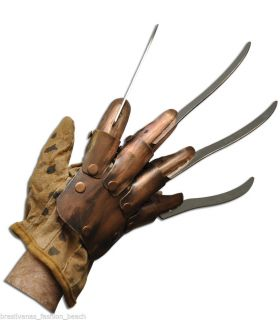 Edition Freddy Krueger Metal Glove Hand Collector A Nightmare on Elm St Garras