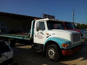 1998 International Rollback Tow Truck Wrecker Flatbed