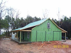 24 x 32 Cabin Kit House Steel SIP Soy Foam DIY No Crane Factorydirect $1000DN
