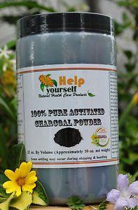 100 Pure Activated Charcoal Powder 10 oz Food Grade