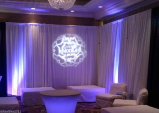 Pipe Draping DJ Party Event Backdrop Church Hotels Craft Tradeshow Wedding
