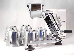 Saladmaster 5 Star Shredder Food Processor Slicer Slaw Maker Machine w Cones