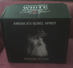 Popcorn Sutton Empty Case for The New Black Bottle