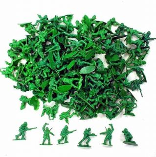 144 Toy Army Soldiers Military Men Play Action Figures