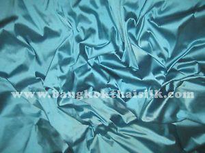 Slate Blue 100 Pure Silk Taffeta Fabric Clothing Dress Craft Drape Shirt Skirt