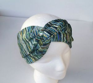 Missoni Turban Headband Green Eco Friendly Hair Accessories Headwrap