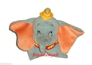 Disney World Exclusive Flying Elephant Dumbo Pillow Pet PAL Plush New