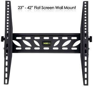 "Brateck 23"" 42"" Flat Screen Plasma LCD Wall Mount TV Bracket Television"