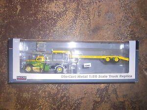 John Deere Lowboy Flatbed 1 50 Scale O Railroad Scale International Harvester