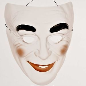 Transparent Halloween Mask | Clear Creepy Transparent Halloween Face Mask For Kids Adults New
