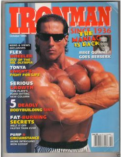 Ironman Bodybuilding Muscle Fitness Magazine Mike Quinn 10 94