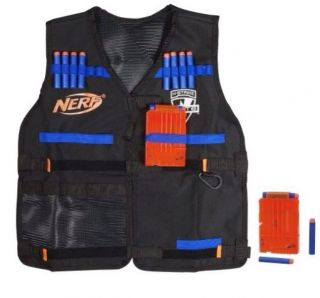 New Nerf N Strike Elite Tactical Vest Kit for Blasters Soft Foam Play Shipfree