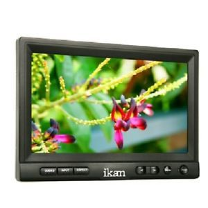 "Ikan V8000HDMI 8"" HDMI Analog HD Input Field LCD Monitor Kit Case Sony Battery"