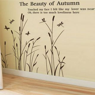 New Branch Pattern DIY Wall Art Sticker Home Decal Mural PVC Stickers