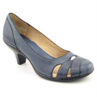 New Sofft Cara Pumps Women's 7 5M 10N 11M Navy Blue French Piping Baby Doll Toe