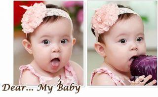 Multi Style Cute Baby Girl Infant Headband Bow Flower Headwear Hair Band Decor