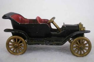 Vintage 1960's Tootsietoy 1912 Model T Ford Diecast Car