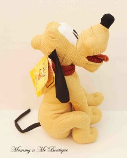 New Disney World 80th Anniversary Pluto Limited Edition Plush Toy