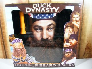 Uncle SI Willie Beard Gear Dressup Costume Duck Dynasty