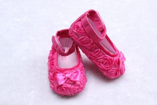 Beautiful Infant Toddler Baby Girl Boys Soft Sole Shoes Sandal US 3 4 5 CG014