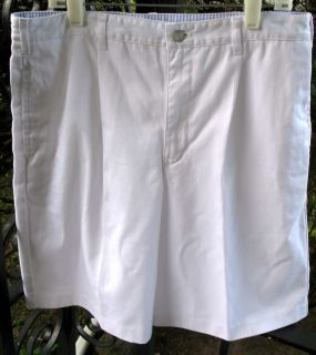Boy Khaki Navy Chino Cotton Dress Shorts 8 14 16 20