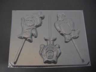 Monsters Inc Chocolate Candy Lollipop Soap Gummy Clay Mold
