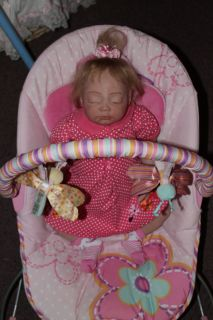 Sweet Pea Babie's Nursery Reborn Doll Sweet Baby Girl Jaden by Aliena Peterson