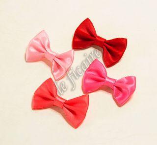 "1 3 8"" Satin Ribbon Bow Ties Embellishments Dolls Trims"