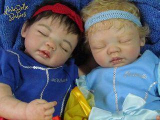 Reborn OOAK Lovabelle Babies Baby Girl Lindsey Hanni Posch Snow White Disney