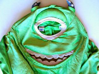 Disney Monsters Inc Mike Wazowski Halloween Costume Toddler 18 MO 2 3 4 4T 3T