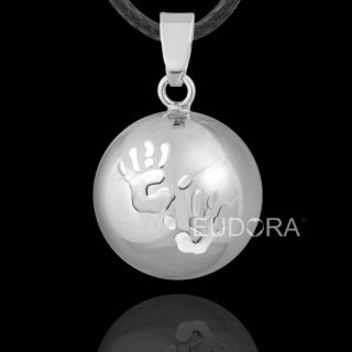 Baby Hands Cute Musical Pendant Harmony Ball Pregnancy Baby Bola Chime Necklace