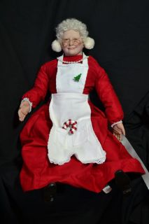 Reborn Doll Mrs Twinkle Claus OOAK Was Mrs Claus Grandma Sculpt by Donna RuBert