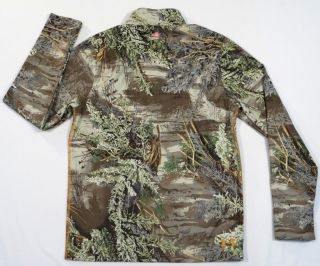 Under Armour All Season Gear Advantage Max 1 Camo Wind Stopper Shirt Mens