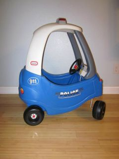 Little Tikes Blue Police Car Cozy Coupe