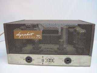 Dynaco Dynakit St 70 Stereo Tube Amp Amplifier Vintage Dyna Company Vtg Nice