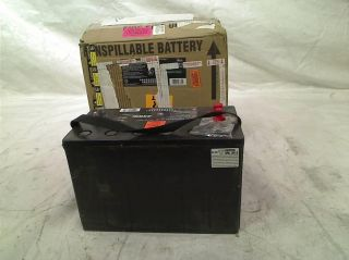 Exide MC 31 Megacycle AGM 200 SEALED Maintenance Free AGM Marine Battery