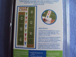 RoomMates for Kids Peel Stick Growth Chart NIP