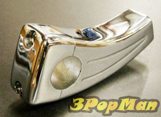"4"" Chrome Motorcycle Handlebar Risers for Yamaha Virago 250 535 Roadliner Raider"