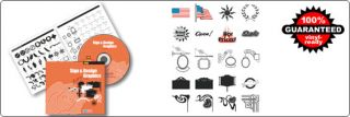 Sign Design Graphics Collection Vinyl Ready to Cut Vector Graphics Clipart