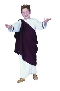 Ceaser Roman Toga Child Costume Julius Caesar The Great Greek God Costumes 90094
