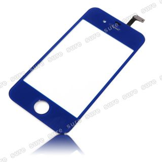 Blue Front Touch Glass Screen Replacement Repair Tool Kits for iPhone 4 4S