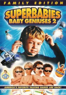 Superbabies Baby Geniuses 2 Family Edition DVD 043396014374