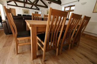 large oak dining room table seats 8 10 12 14 chairs